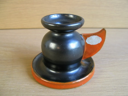 black/orange candlestick 2307