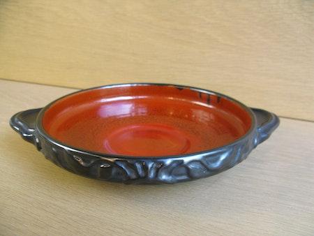 black/orange bowl 2289