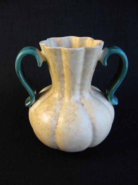 yellowish/green vase 294