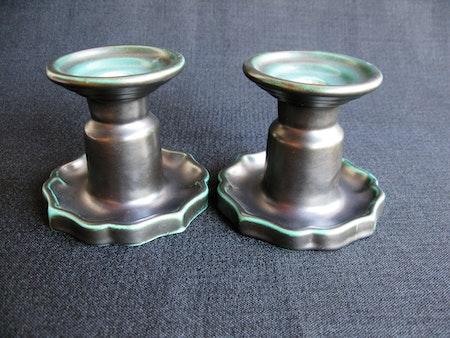 dark green candlesticks 17