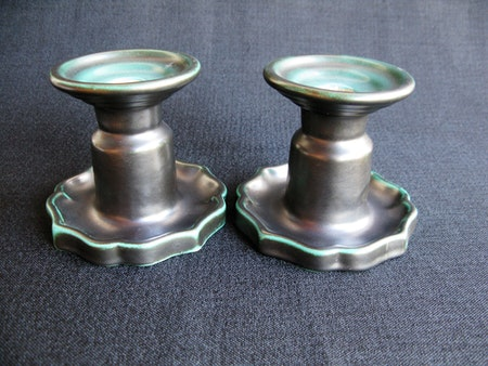 dark green candlesticks 17