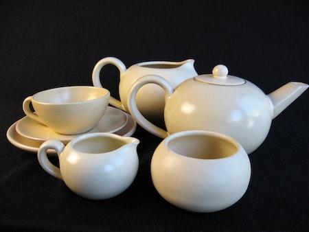 offwhite tea set