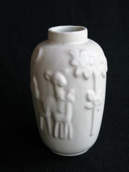 white vase 203