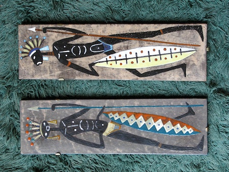 afrikan wall plate 8011 a&b sold