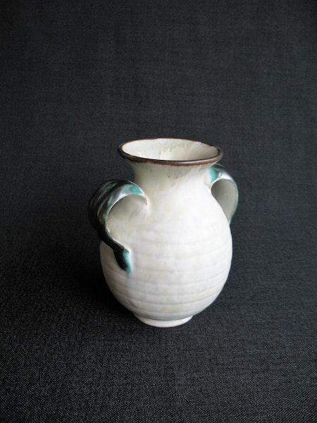 greyish/green vase 216