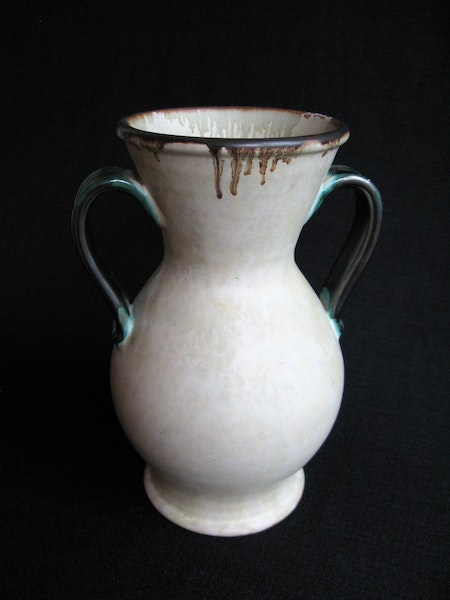 large greyish/green vase 302