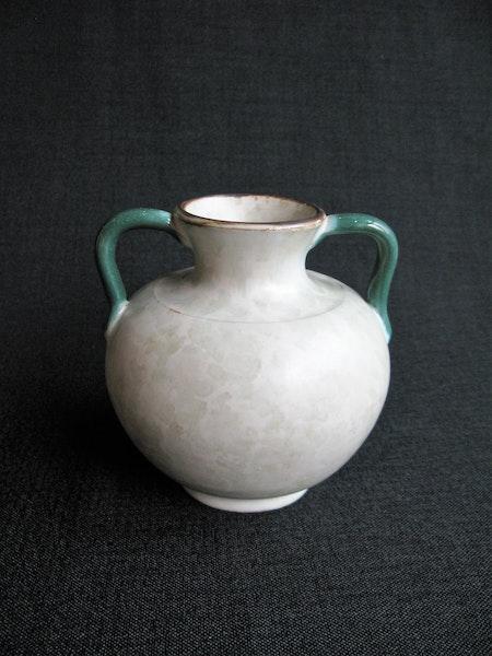 greyish/green vase 86