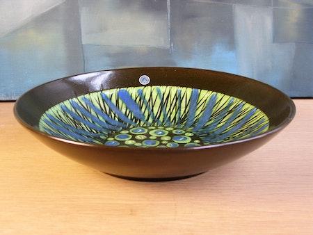 blue/green stripa bowl 9038