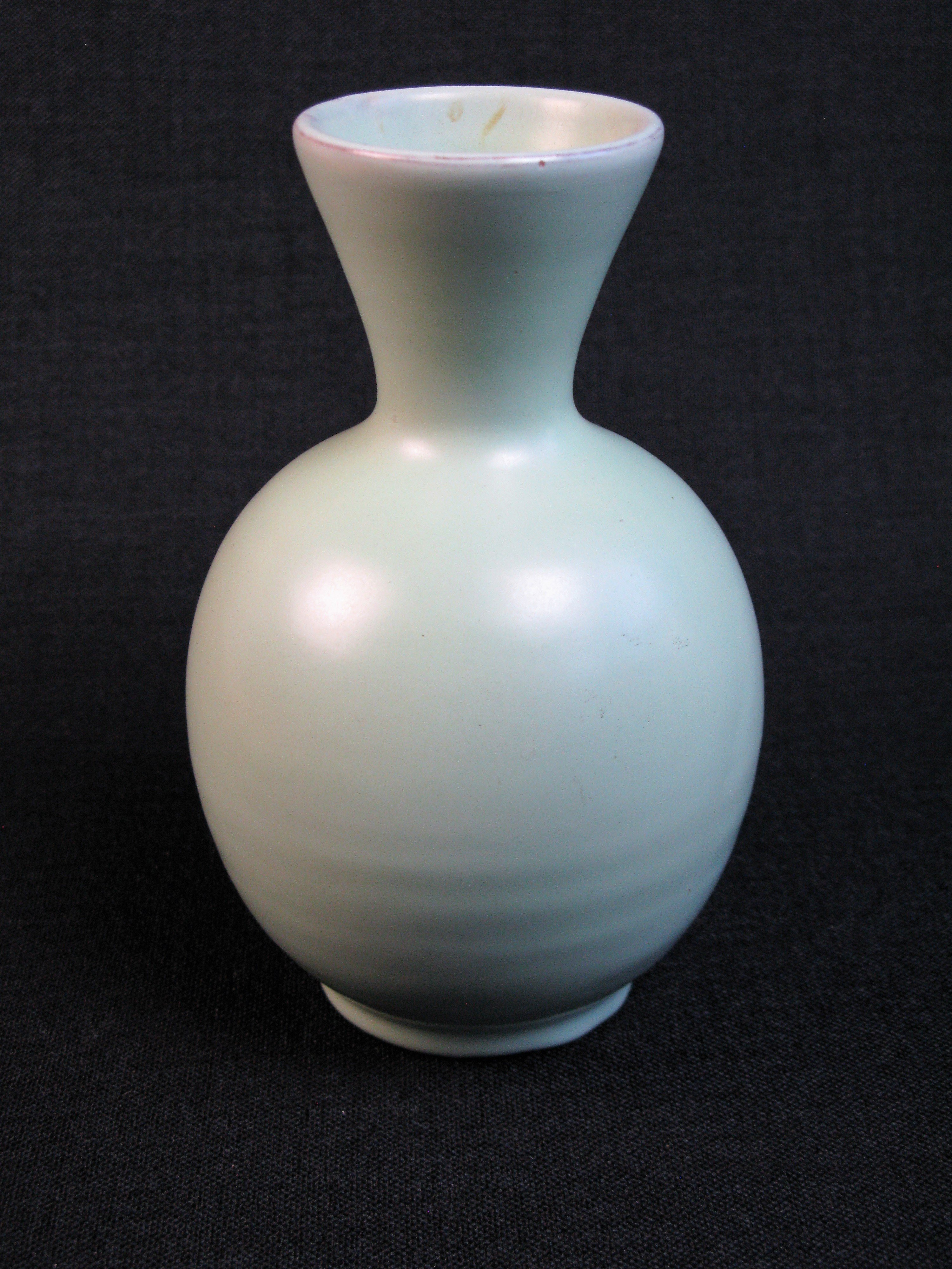 light green vase 246