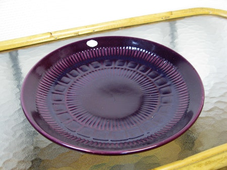 burgundy bowl 386