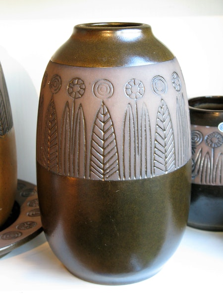 dark brown rabatt vase 4004g