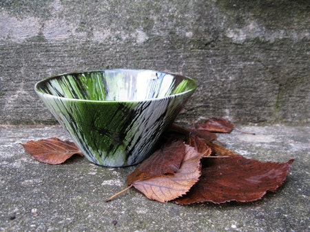 Green kaskad bowl 4186