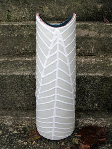 large fossil vase 4131