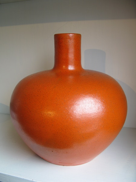 Orange UE-vase 3179