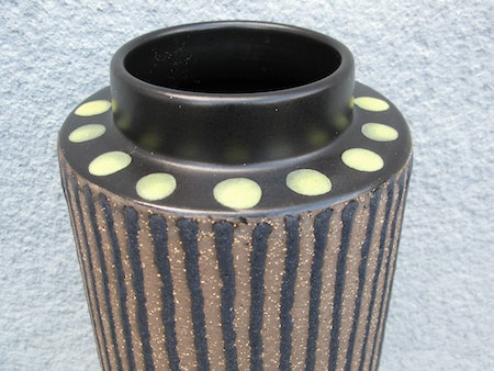 ringo floor vase yellow 6027m