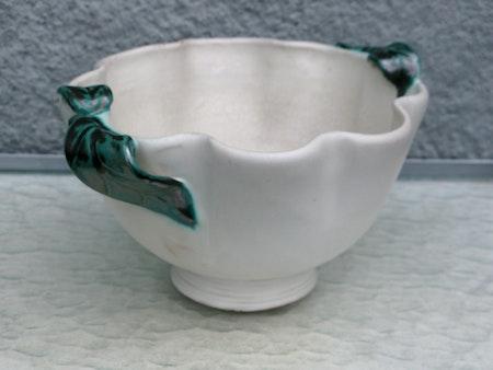 white/green bowl 93