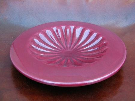 burgundy bowl 217
