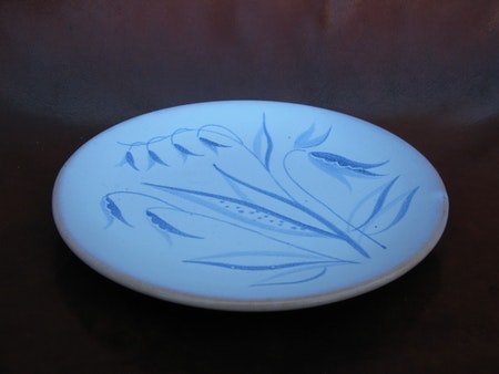 blue flora small plate 1