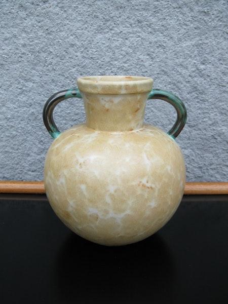 yellowish/green vase 98