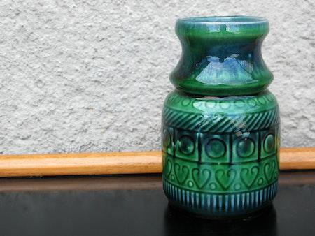 blue/ green vase 1034 110/1