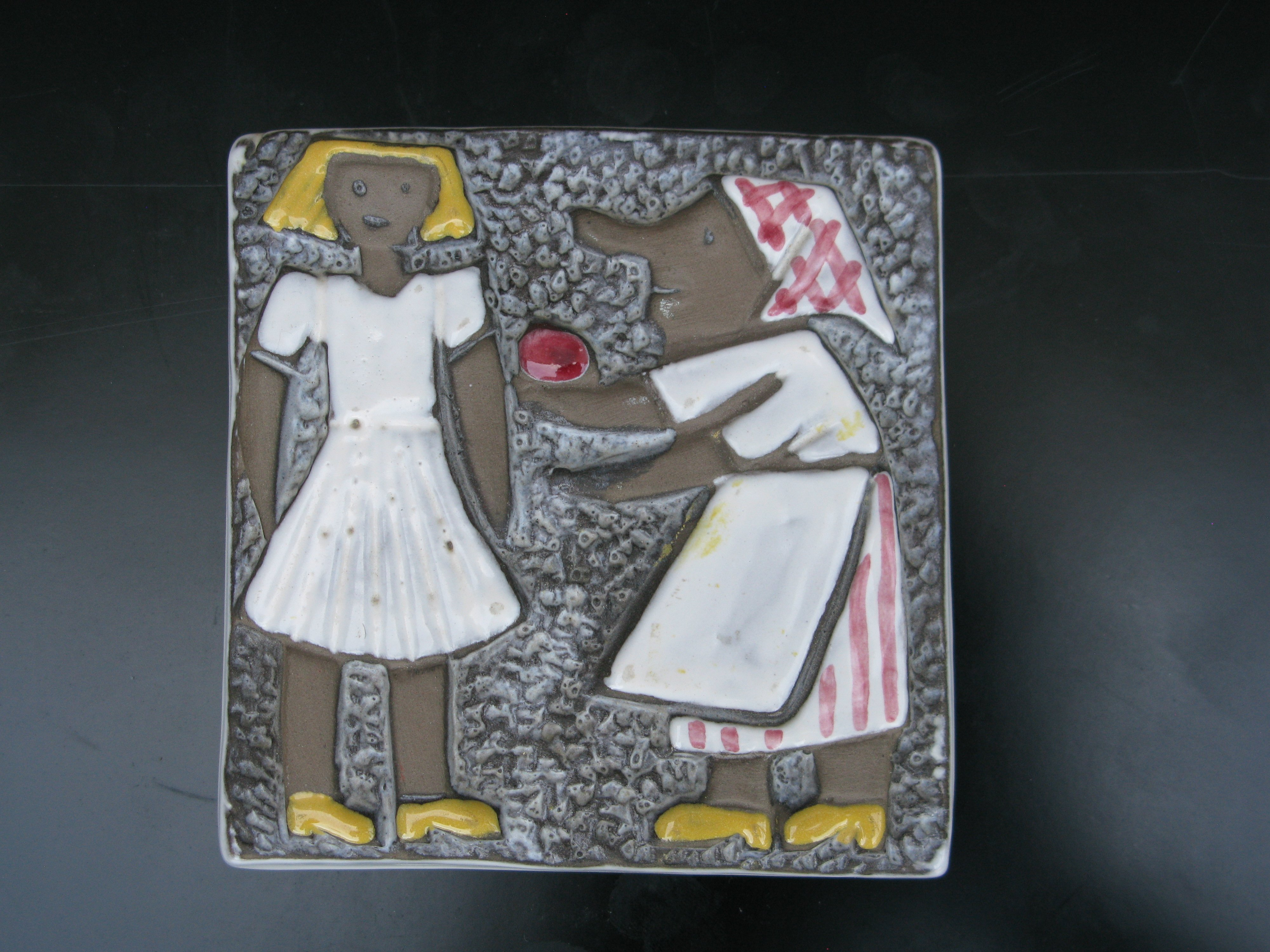 sagoland snövit wallplate 1041/20