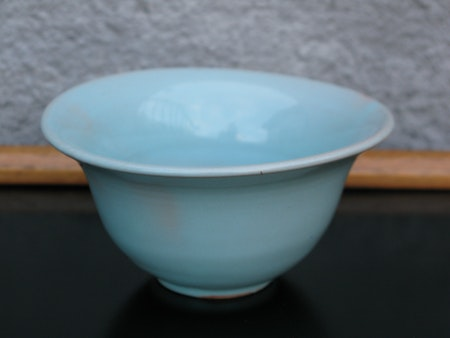 light green bowl 21-