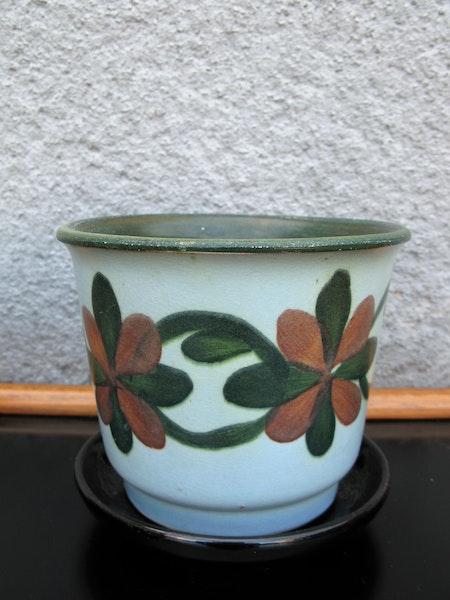 green/rust ue flowerpot nr 1