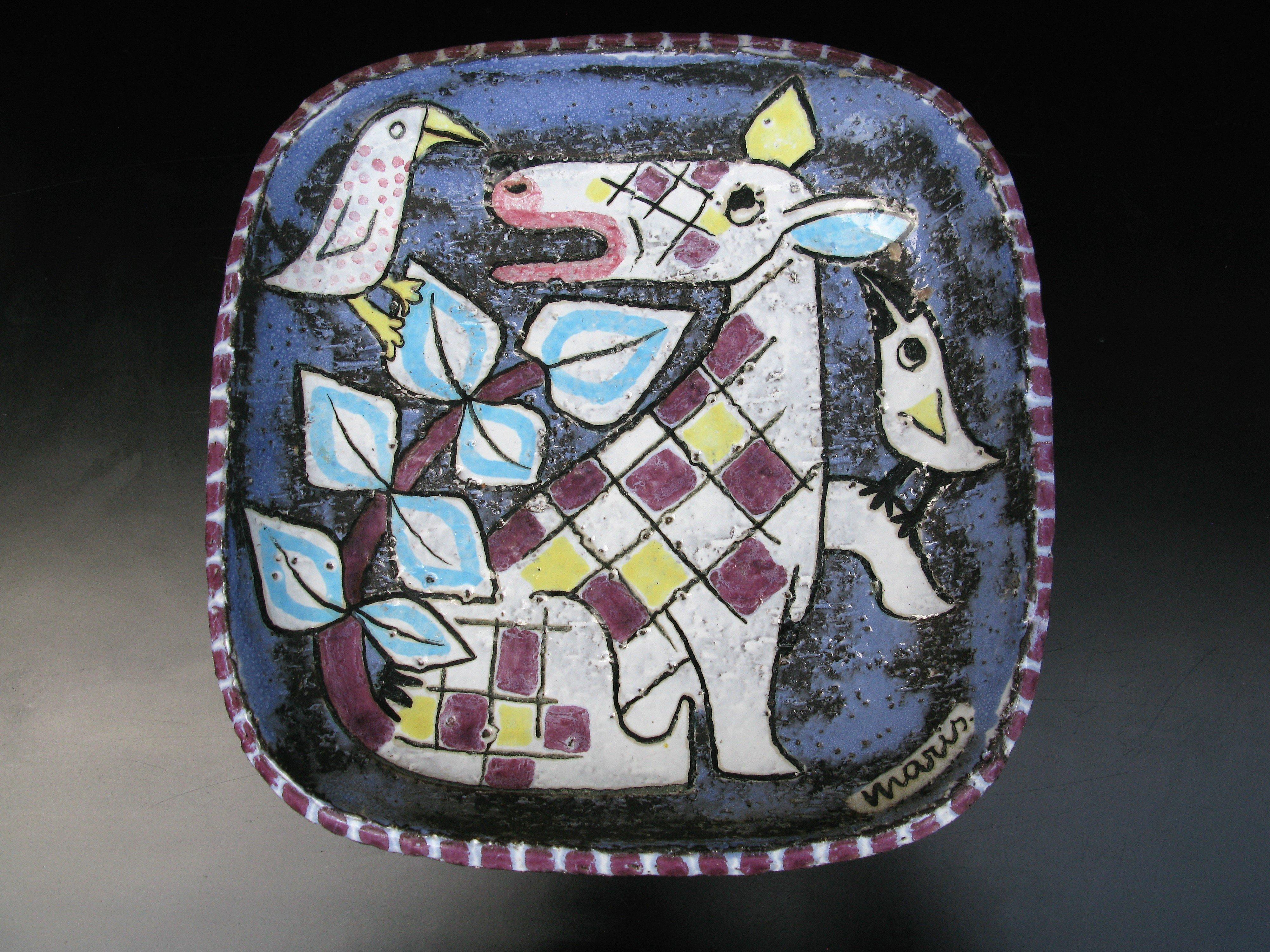 animal plate 4068