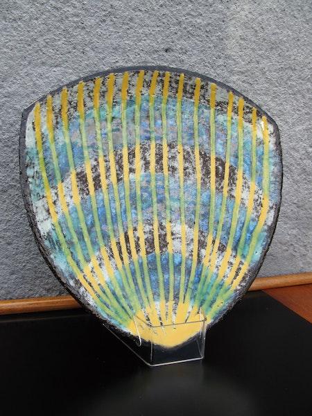 fiorella striped plate 2350