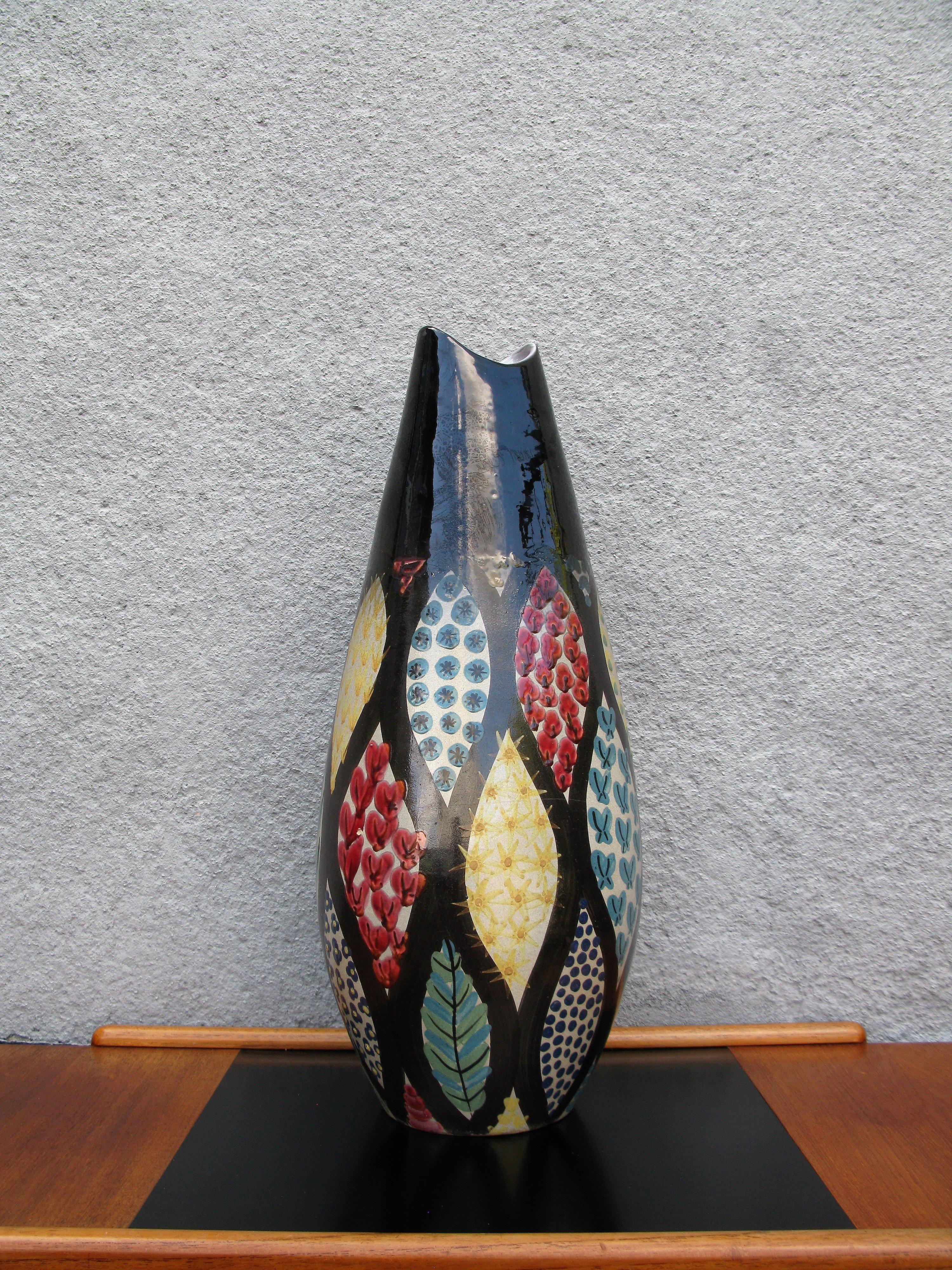 mimosa floor vase 2101