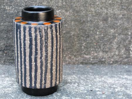orange ringo vase 5058m