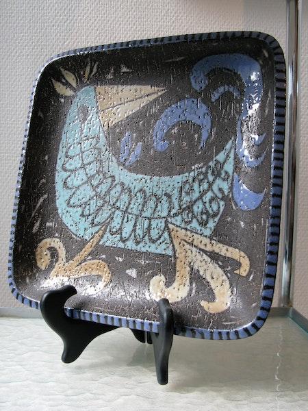 bird plate 4063