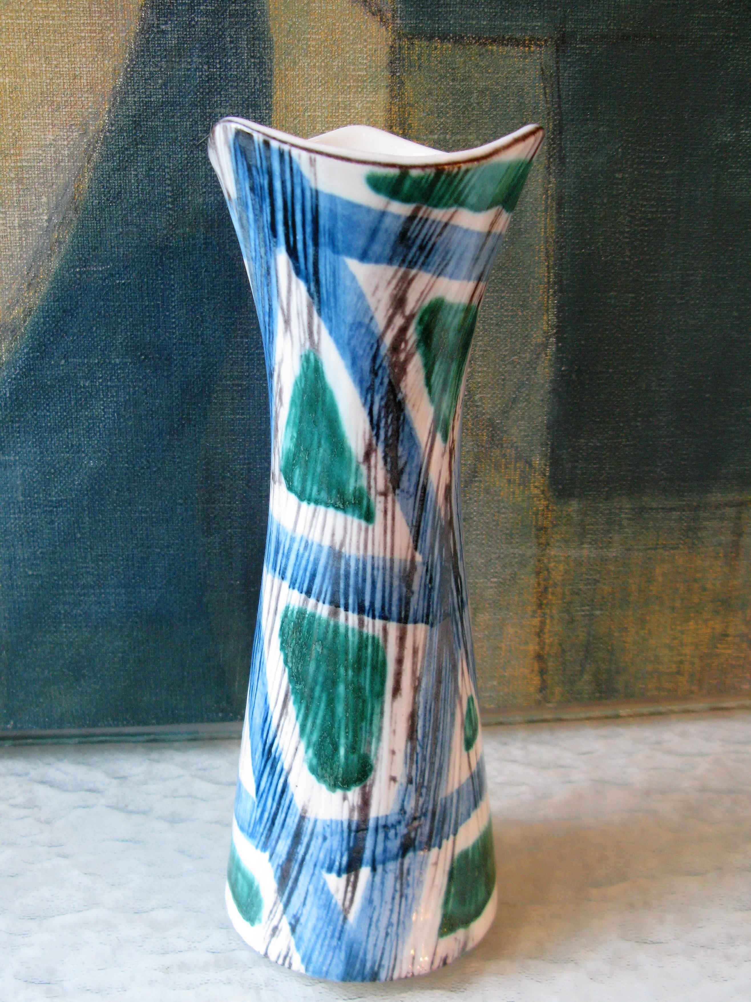 Blue/green vase 3030/279