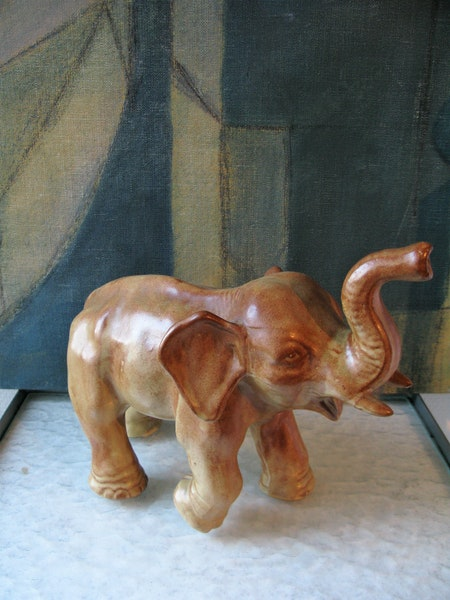 brown elephant 7