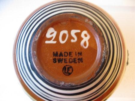 art deco vase 2058