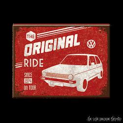 MAGNET Golf metallskylt VW
