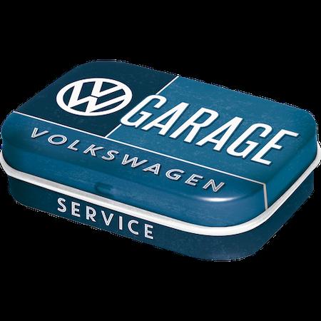 Plåtask med mintpastiller VW folkvagn GARAGE