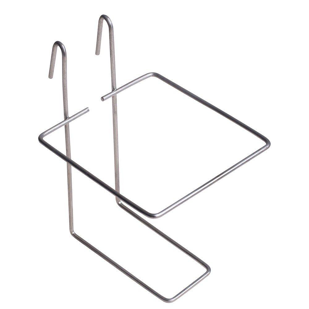 Svart eller vit NIPPEL i metall med 0,5 liters TANK till höns/gnagare