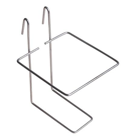 Svart eller vit NIPPEL i metall med 0,5 liters TANK eller enbart TANK till höns/gnagare