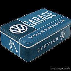 VW GARAGE SERVICE VOLKSWAGEN BURK METALL 2,5liter