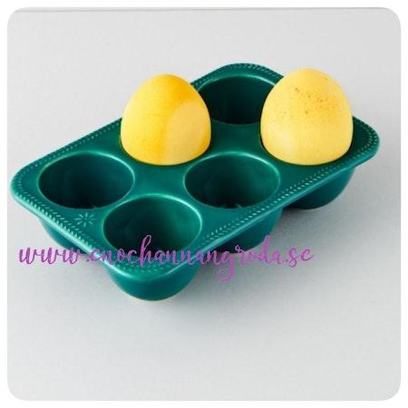 ÄGGFACK keramik grön