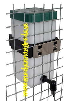 FÄSTE/HÅLLARE till 0,5 och 1 liters TANK (plast)