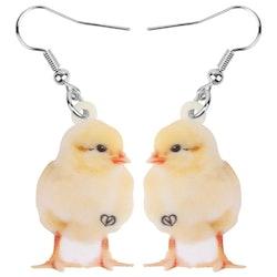 Kyckling ÖRHÄNGEN Fågel HÖNS
