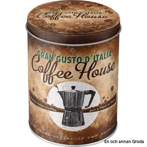 Coffee house BURK 1liter kaffeburk
