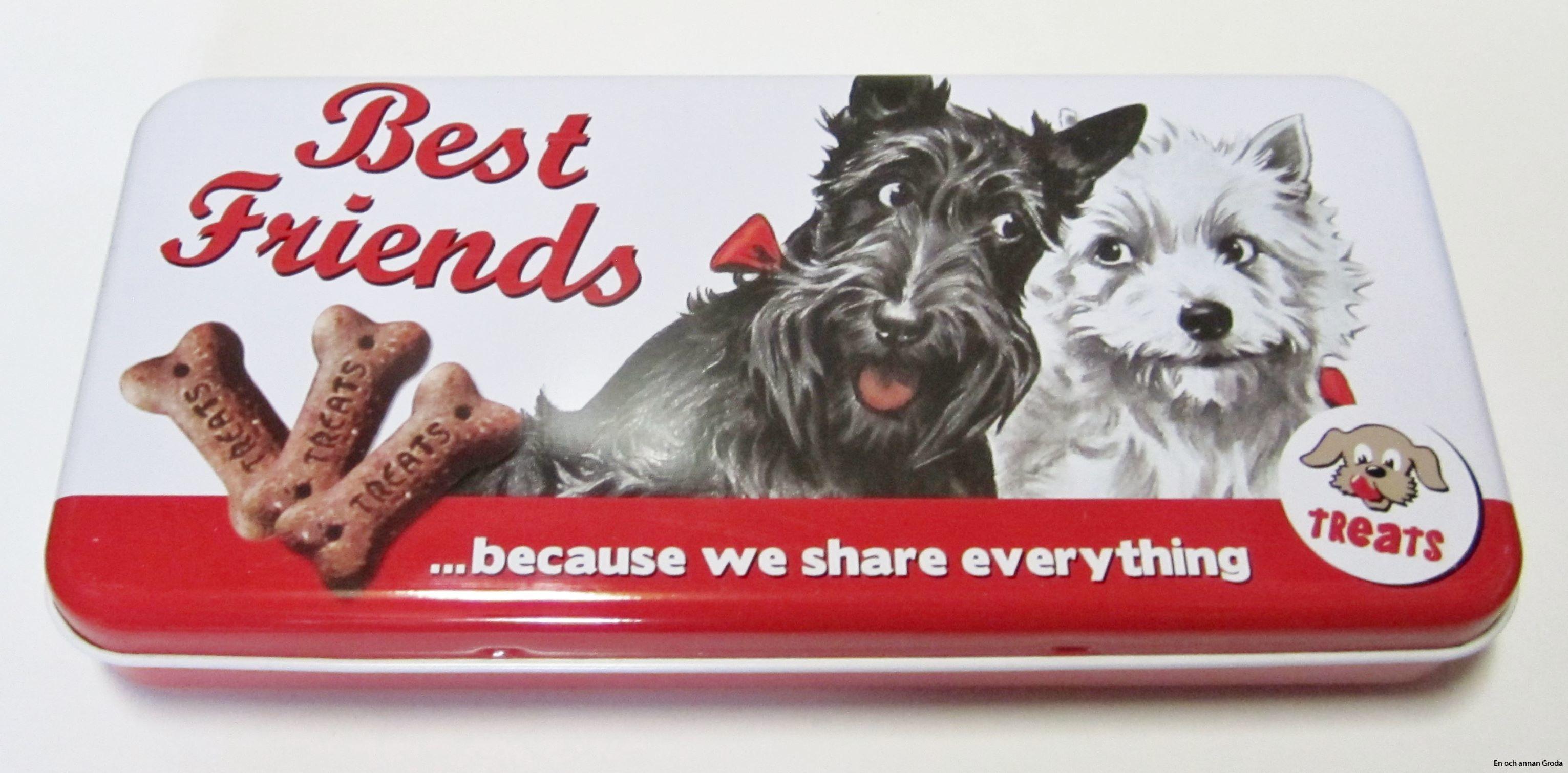 Rea! BURK/SKRIN HUNDAR Best friends ...because we share everything