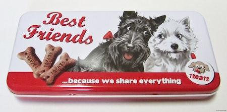 BURK/SKRIN HUNDAR Best friends ...because we share everything