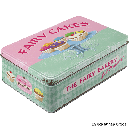 FAIRY CAKES BURK METALL 2,5liter Muffins