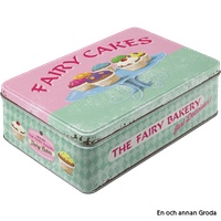 Rea! FAIRY CAKES BURK METALL 2,5 liter Muffins