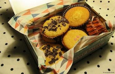 Rea! FAIRY CAKES BURK METALL 2,5 liter Muffins