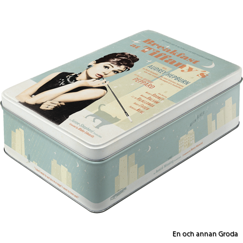 Rea! Breakfast at Tiffany's - METALLBURK - Audrey Hepburn 2,5liter